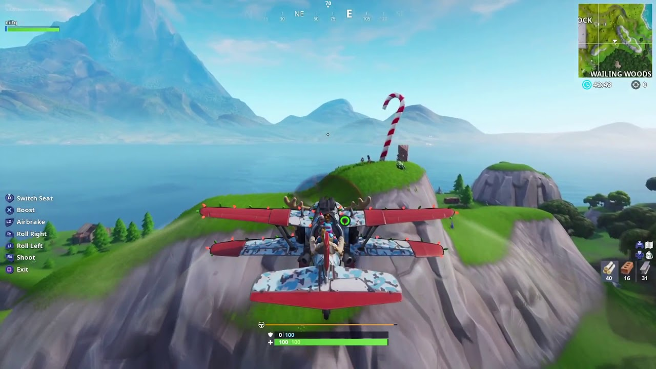 Fortnite Visit Giant Candy Canes Challenge Locations 14 Days Of