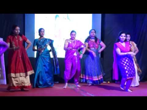 Dance on Marathi Serial Titles by Ladies of Soni Sarovar on 26th January 2017