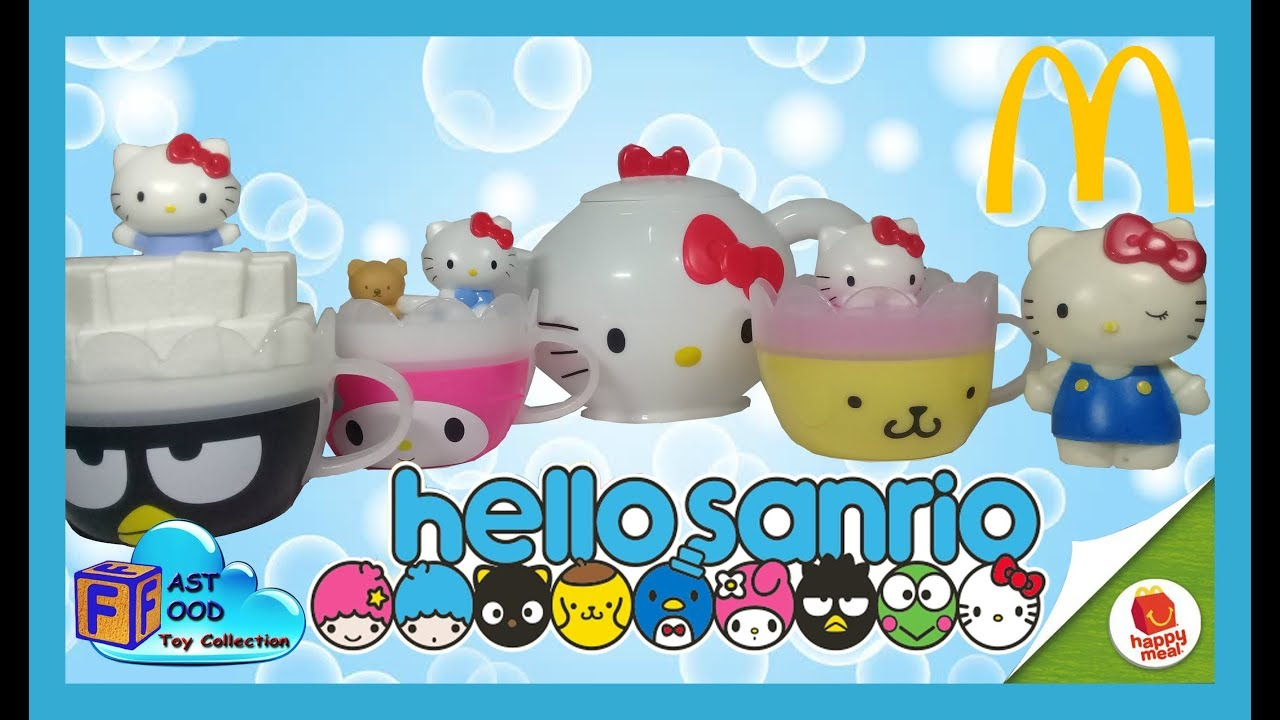 2017 Hello Sanrio Hello Kitty Mcdonald 39 S Happy Meal Toys