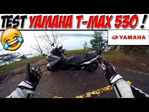 #MotoVlog 66 : TEST YAMAHA T-MAX 530 / EN Y ? ( Ou pas ! )