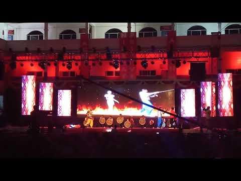 Bahubali dance by Samuel school students /9th class students (HD)