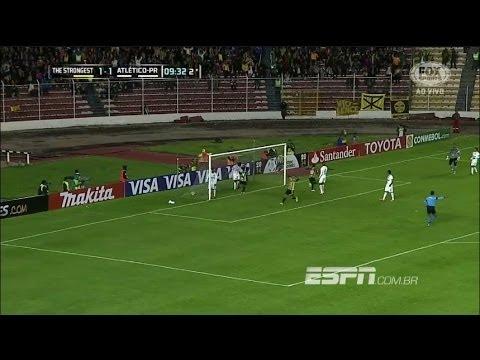 The Strongest 2 - 1 Atlético Paranaense Copa Libertadores 2014