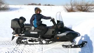 Снегоход Ямаха. Снегоход Yamaha Viking.