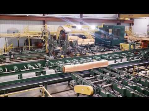 MELLOTT -  Log And Lumber Conveyor Systems At Wagner Millwork - Owego, NY
