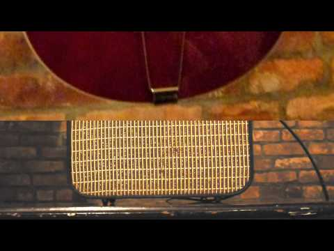 Vintage No Name Japanese Suitcase Amp w/ 12av6 35w4 50c5 tubes