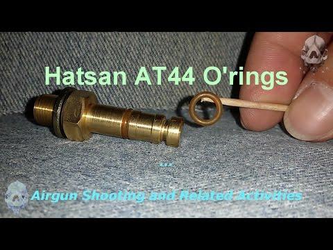 Hatsan AT44 O'rings - Anéis de Vedação da Hatsan AT44 - YouTube