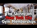The Skinny on New York City Gym Memberships
