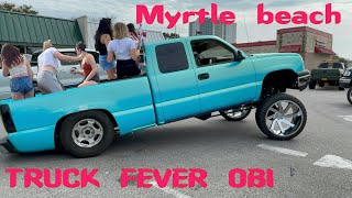 Myrtle Beach Orange Beach Invasion | squatted | lifted | American trucks | OBI|South Carolina| pt. 5