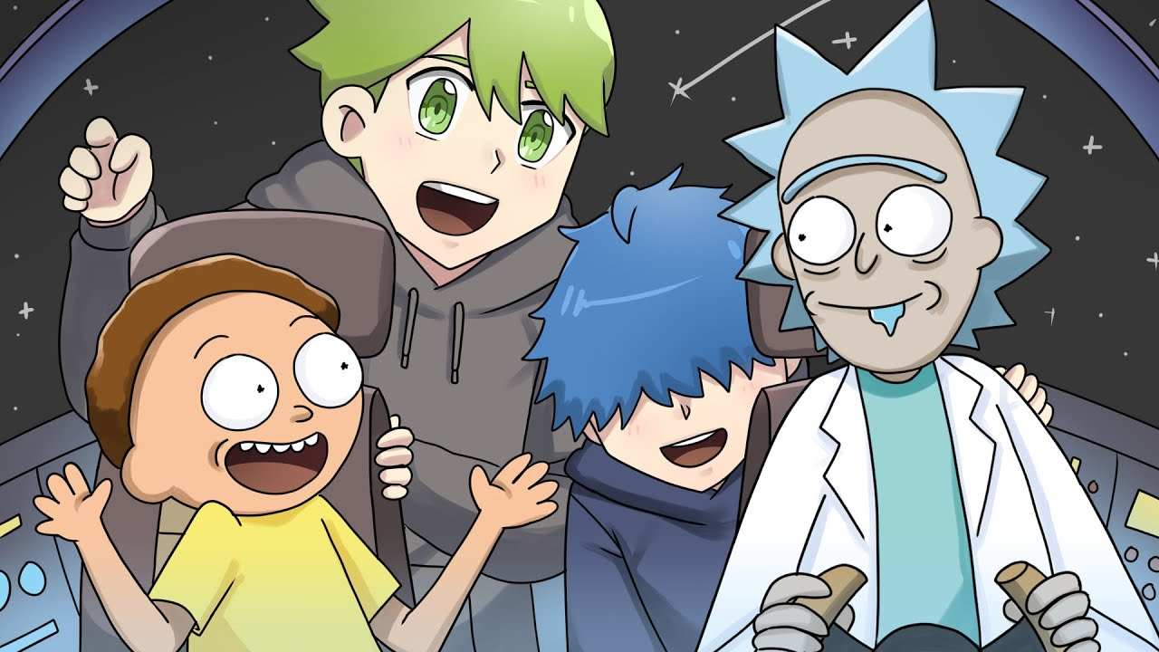That Time We Met Rick and Morty   DanPlan Animated