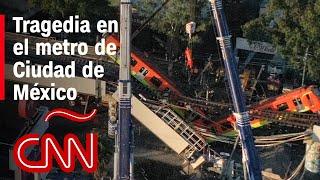 México investiga qué provocó el accidente en el metro en CDMX