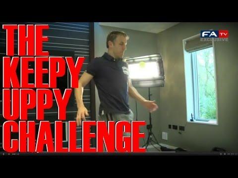 Phil Neville Keepy Uppy Challenge | FATV #KeepyUppy