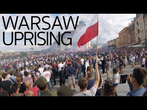 Warsaw Uprising in Poland 2016