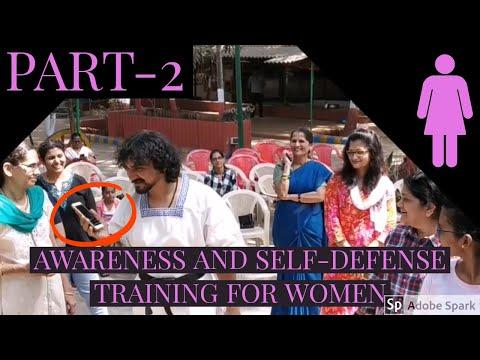 AWARENESS AND SELF-DEFENSE TRAINING SEMINAR FOR WOMEN BY MASTER GAJENDRA (PART-2).
