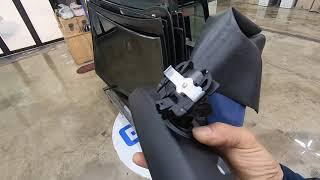 BMW 5시리즈 차량의 룸미러의 브라켓 지지대 파손으로…