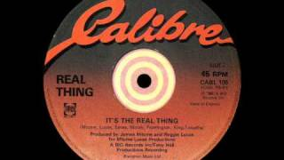 Watch Real Thing Its The Real Thing video