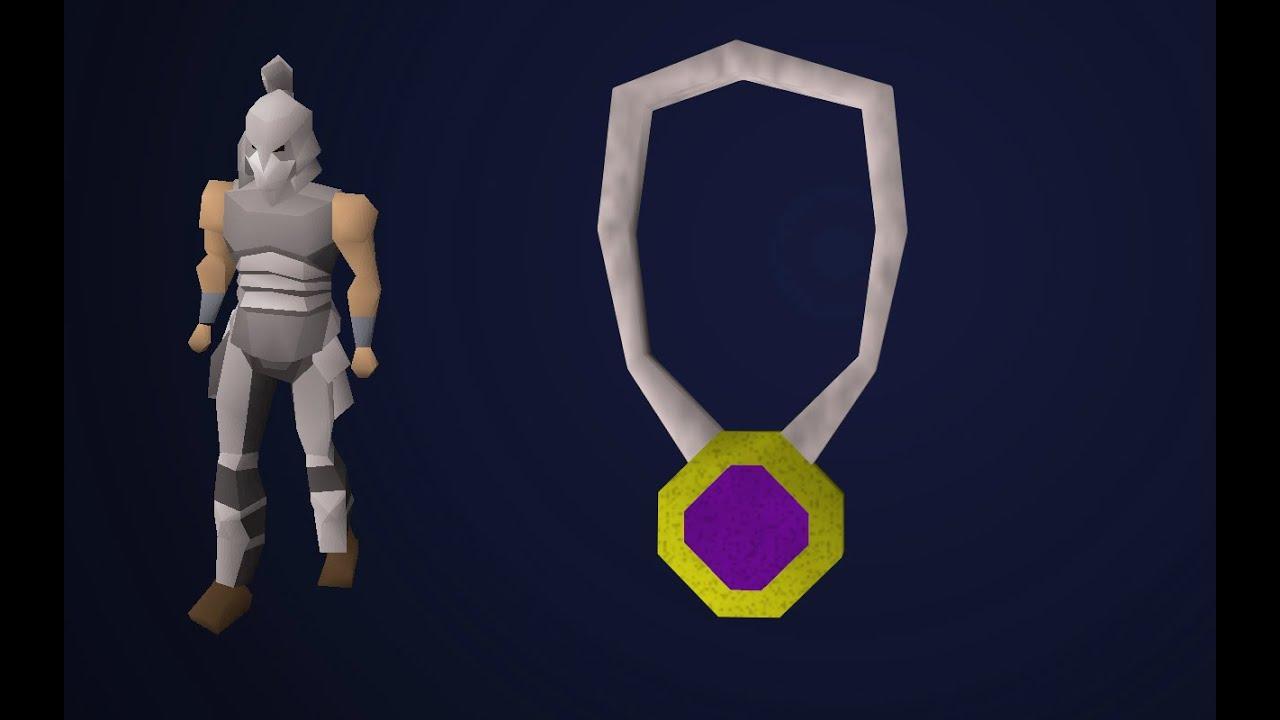 Amulet of glory achieved - Iron man (osrs)