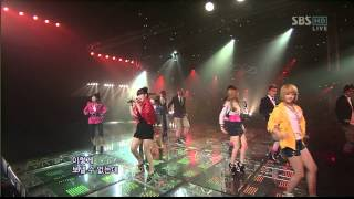 Download 01.11.2009 [1nkigayo] Supernova & T-ARA: Time To Love 2 MP3 song and Music Video