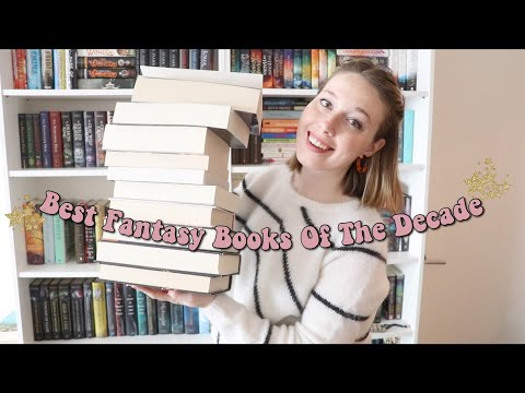 BEST Fantasy Books Of The Decade!!