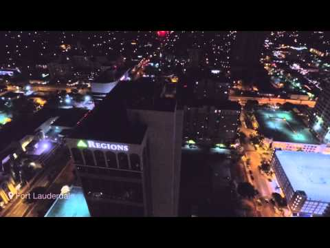 Downtown Fort Lauderdale with Phantom 3
