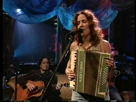"Sheryl Crow - ""Are You Strong Enough To Be My Man"" - acoustic, accordion, 1995"