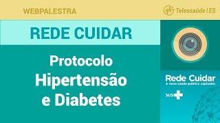 WebPalestra: Protocolo Hipertensão e Diabetes [Rede Cuidar]