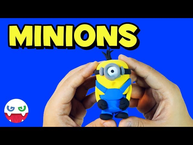 How to Make a Minion with Clay [Despicable Me]