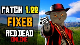 Patch 1.22 FIXES red dead online on PS4 and XBOX
