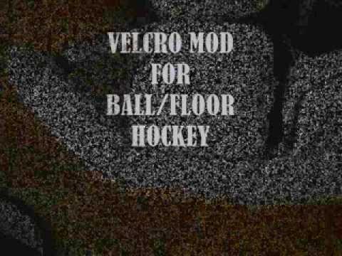 Goalie Pad Velcro Mod Youtube