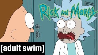 Mini-Rick! | Rick & Morty | Adult Swim De
