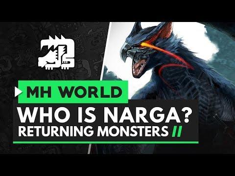 Monster Hunter World Iceborne | Who Is Nargacuga?