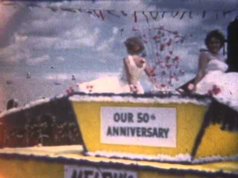 8mm home movies: House; birthday party; farm; parade, Red Lake County(?), MN