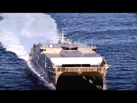 Austal - USNS Spearhead Joint High-Speed Vessel 1 (JHSV 1) [720p]