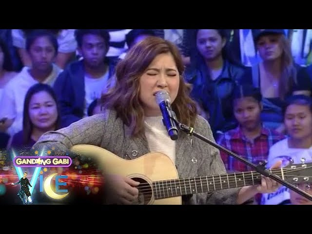 GGV Exclusive: Moira dela Torre sings her new composed song