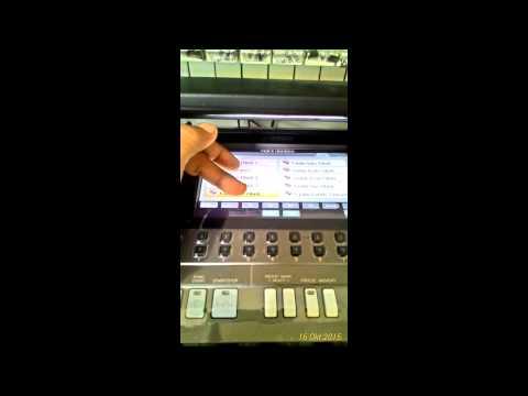 Voice Violin and style dangdut kejam Yamaha psr s970