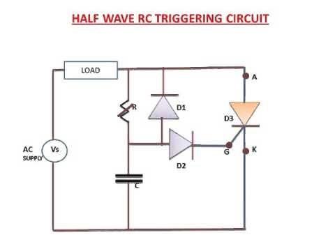 LEARN AND GROW !! HALF WAVE RC TRIGGERING CIRCUIT(EXPLANATION) !