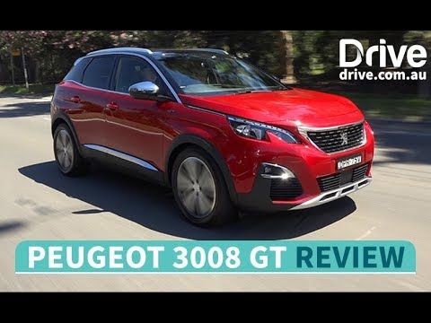 2017 Peugeot 3008 GT She says, He Says Review   Drive.com.au - Dauer: 6 Minuten, 10 Sekunden