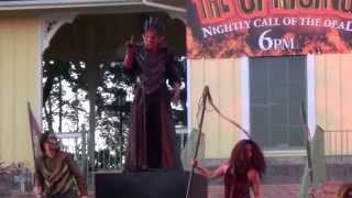 The Uprising at Six Flags Great America Fright Fest 2015