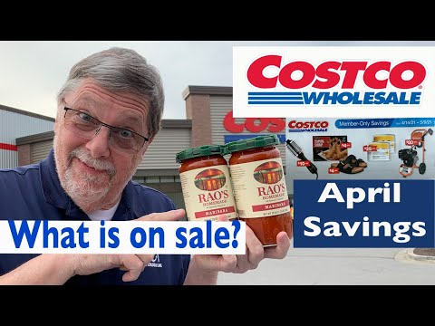 Costco – SHOP WITH US – What is on Sale in the APRIL MONTHLY SAVINGS COUPON BOOK starts April 14