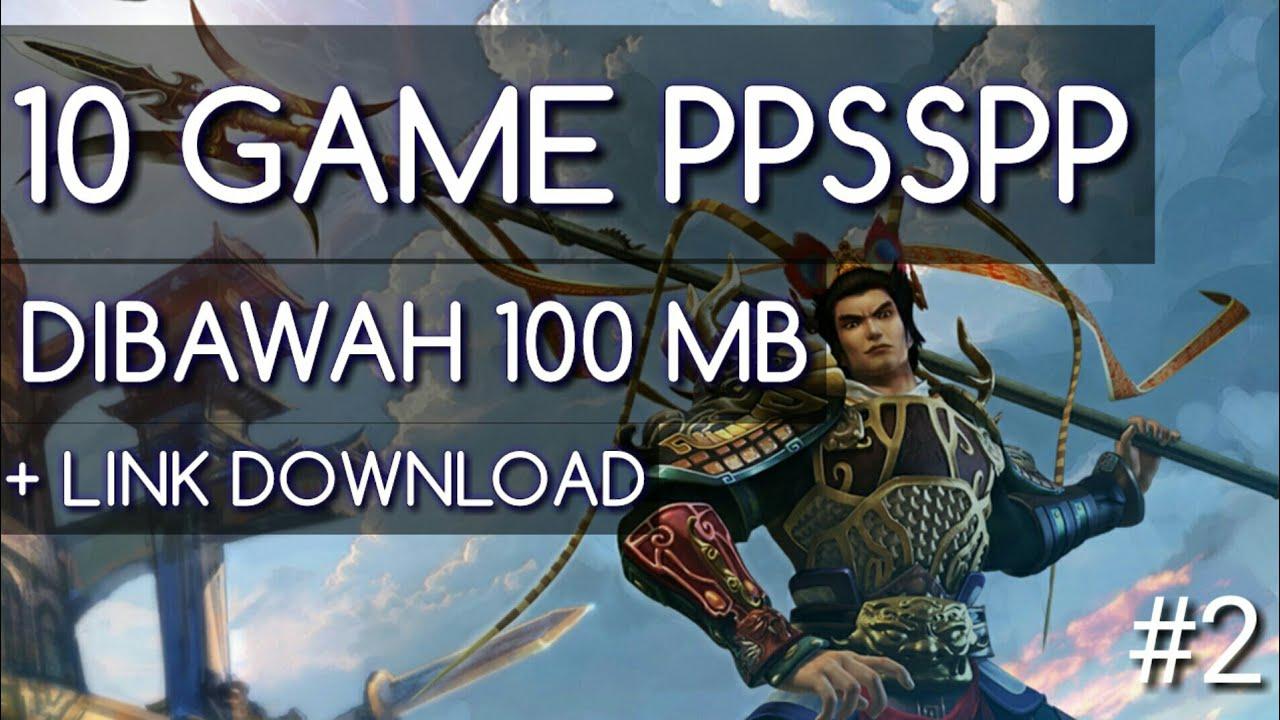 download game psp ukuran kecil dibawah 100 mb