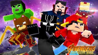 MEETING BLACK PANTHER!!! w/Little Ropo - Minecraft Infinity War #4