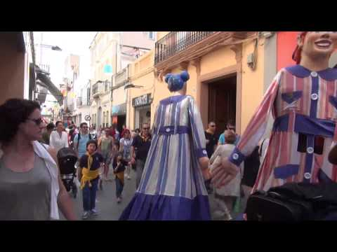 Cercavila Petita. Festes de Maig 2015 Badalona