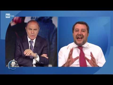 Matteo Salvini - Porta a porta 09/04/2020