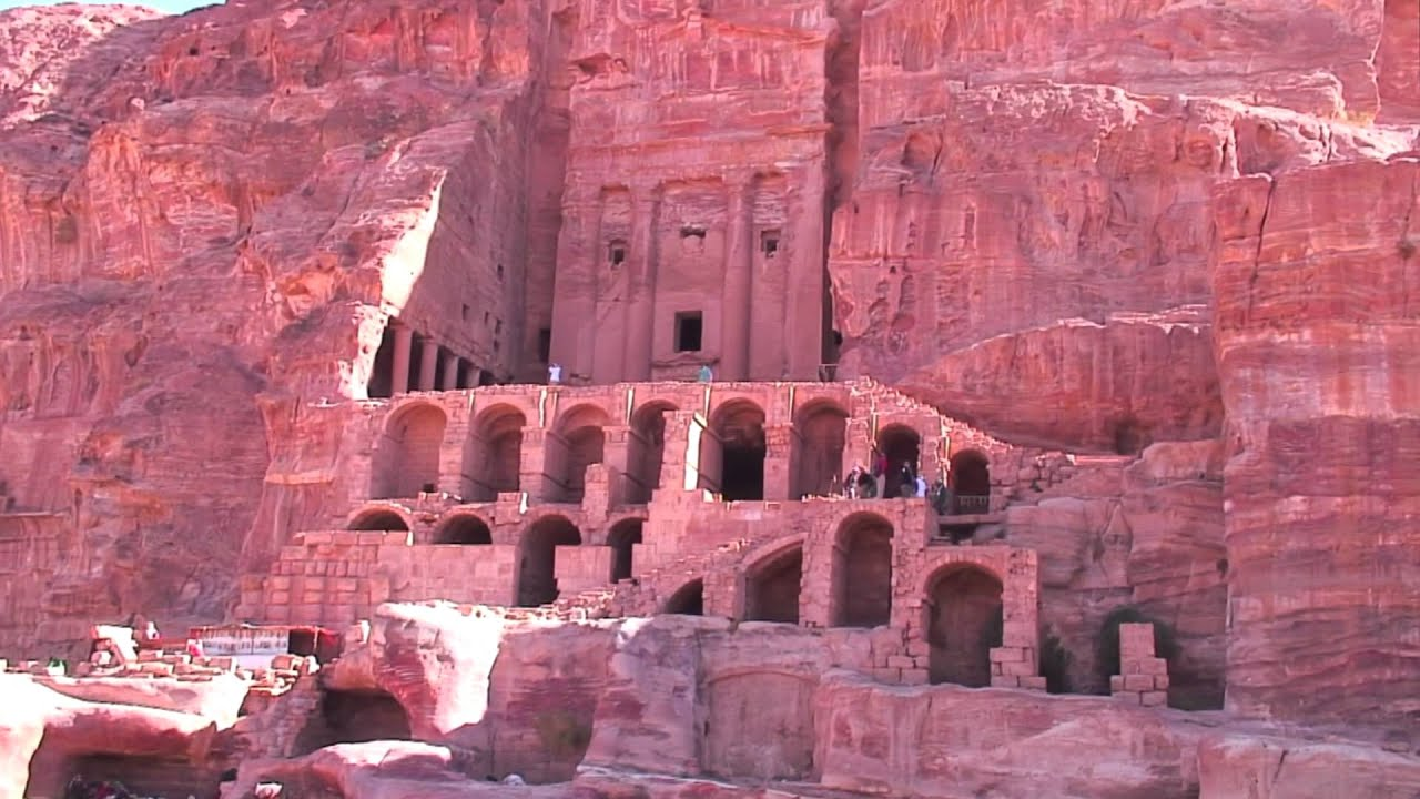 3d Interactive Wallpaper Ruins Of Ancient Petra The Nabatean Kingdom Youtube