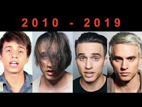 10 Years Of My Best & Worst Hairstyles (2010-2019)