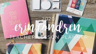 Erin Condren 2019-2020 Teacher Lesson Planner & Accessories