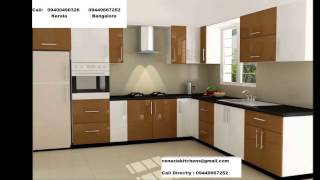 Kitchen cabinet & BALCONY Covering with Aluminium & GLASS - BANGALORE 9449667252