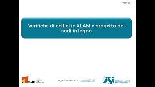 PRO_SAP: progetto e verifica di strutture in LEGNO e XLAM, calcolo dei nodi in legno