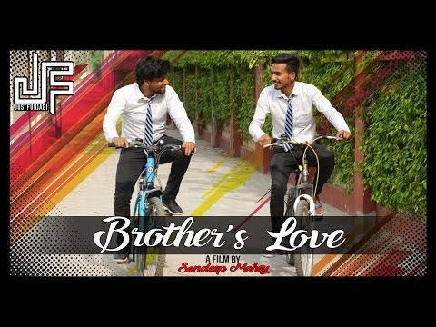 Brother's Love | Emotional Short Film | JustFunjabi