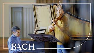 Bach - Violin sonata in F major BWV 1022 - Sato and Ares | Netherlands Bach Society