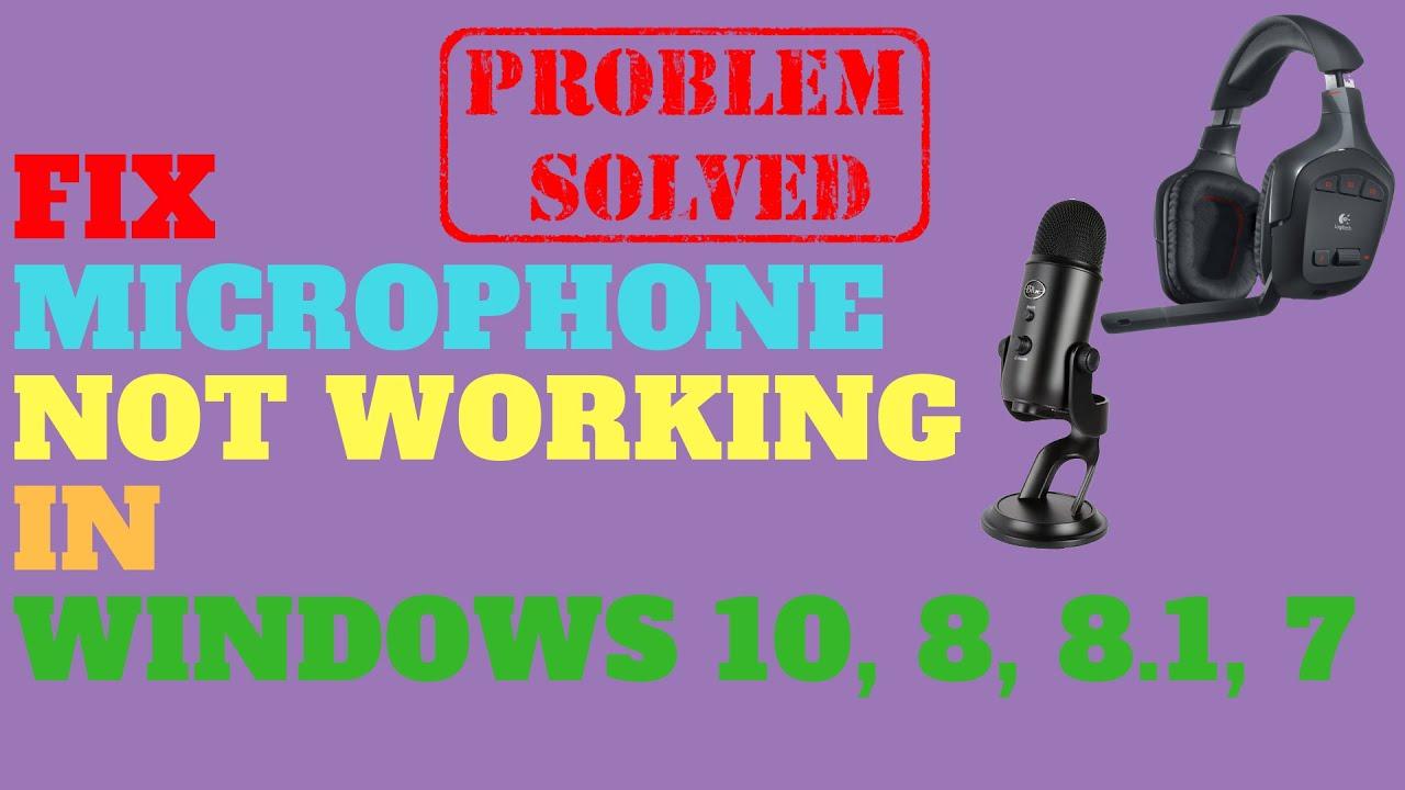usb microphone driver windows 8
